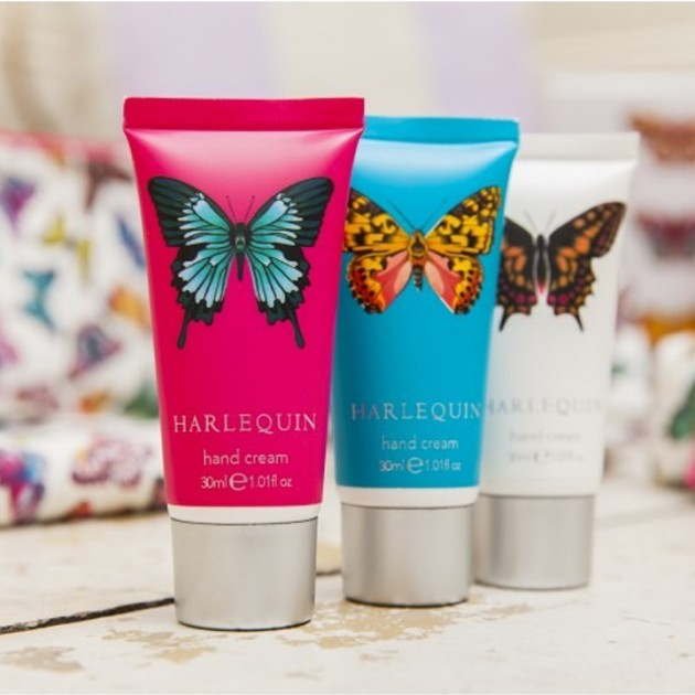 Hampers and Gifts to the UK - Send the Harlequin Hand Cream Set