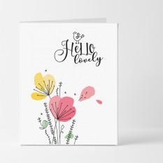 Hampers and Gifts to the UK - Send the Hello Lovely Card