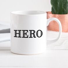 Hampers and Gifts to the UK - Send the Personalised Hero Mug