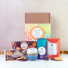 Hampers and Gifts to the UK - Send the Love Cocoa and Chocolates Hamper