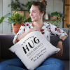 Hampers and Gifts to the UK - Send the Personalised Hug Across the Miles Cushion