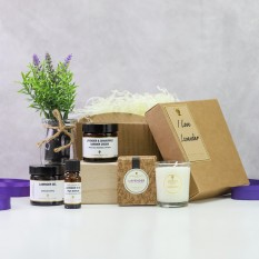 Hampers and Gifts to the UK - Send the I Love Lavender Gift Box