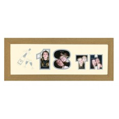 Hampers and Gifts to the UK - Send the Photos In A Word - 18th Birthday Frame