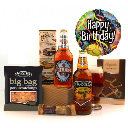 Hampers and Gifts to the UK - Send the A Champion's Birthday Celebration