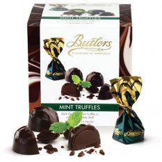 Butlers Chocolate Mint Truffles Cube