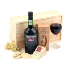 Hampers and Gifts to the UK - Send the Port and Stilton Gift Box