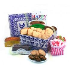 Birthday Cookies and Cake Tin