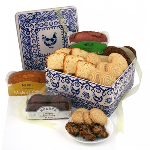 Hampers and Gifts to the UK - Send the Biscuit and Cake Tin
