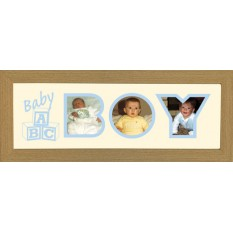 Hampers and Gifts to the UK - Send the Photos In A Word - Baby Boy Frame