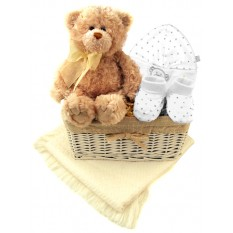 Hampers and Gifts to the UK - Send the Baby Bear Welcome Gift Basket