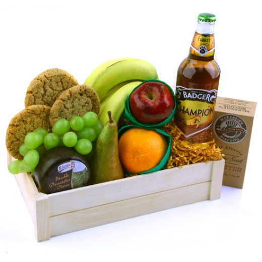Hampers and Gifts to the UK - Send the Champion Fruit Basket