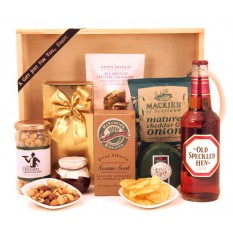 Hampers and Gifts to the UK - Send the Beer and Savouries Hamper
