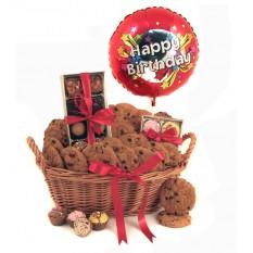 Birthday Luxury Chocolates and Cookies Gift Basket