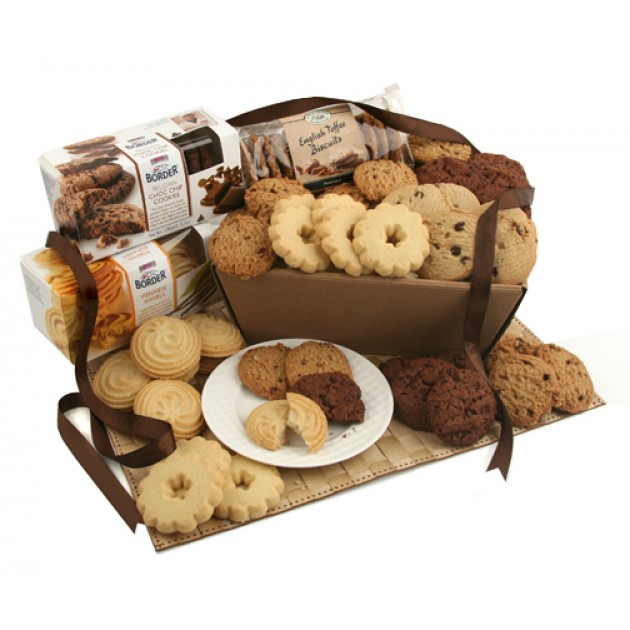 Hampers and Gifts to the UK - Send the Biscuit Favourites Hamper