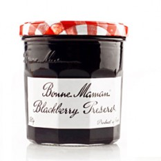 Hampers and Gifts to the UK - Send the Bonne Maman Blackcurrant Preserve - Mini Pot