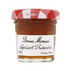Hampers and Gifts to the UK - Send the Bonne Maman Apricot Preserve - Mini Pot