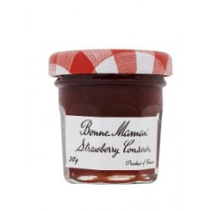Hampers and Gifts to the UK - Send the Bonne Maman Strawberry Preserve - Mini Pot
