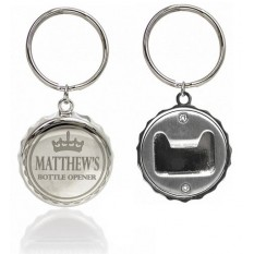 Hampers and Gifts to the UK - Send the Engraved Bottle Opener Keyring