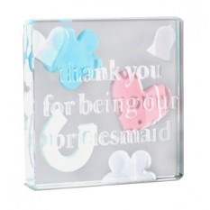 Hampers and Gifts to the UK - Send the Spaceform Thank You Bridesmaid Token