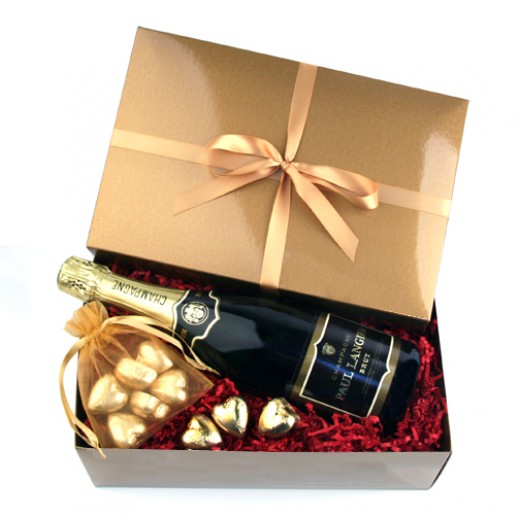 Hampers and Gifts to the UK - Send the Chocolate Hearts Gift Box with Paul Langier