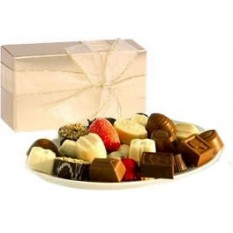Hampers and Gifts to the UK - Send the Chateau Blanc Belgian Chocolates