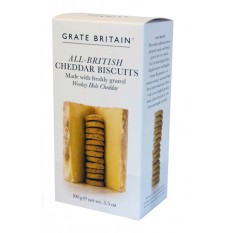Hampers and Gifts to the UK - Send the All British Cheddar Biscuits