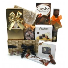 Hampers and Gifts to the UK - Send the Chocolate Hamper - Chocolate Treats