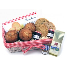 Hampers and Gifts to the UK - Send the Muffins and Coffee Gift Basket