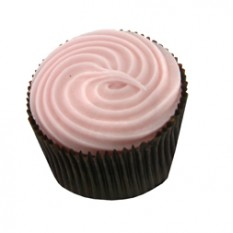 Hampers and Gifts to the UK - Send the Cupcake - Strawberry