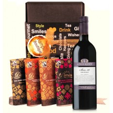 Hampers and Gifts to the UK - Send the Divine Wine Gift Box