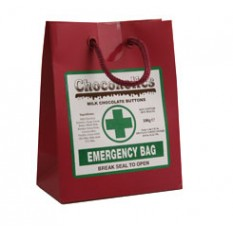 Hampers and Gifts to the UK - Send the Chocoholics Emergency Bag - 190g