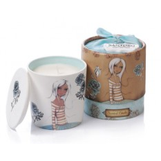 Hampers and Gifts to the UK - Send the Santoro In the Garden Porcelain Candle