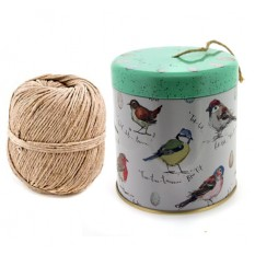 Hampers and Gifts to the UK - Send the Madeleine Floyd Birdsong String Dispenser Tin