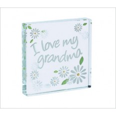 Hampers and Gifts to the UK - Send the I Love My Grandma Daisies Spaceform Token