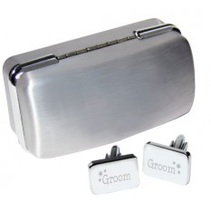 Hampers and Gifts to the UK - Send the Groom Cufflinks