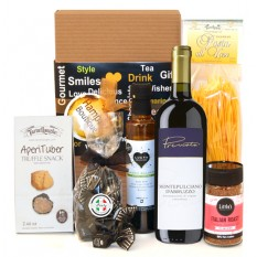 Hampers and Gifts to the UK - Send the Italian Treats Gift Box