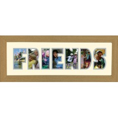 Photos In A Word - Friends Frame