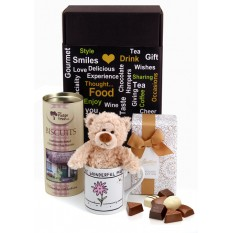 Hampers and Gifts to the UK - Send the Chocolate Treats and Cuddles for Mum