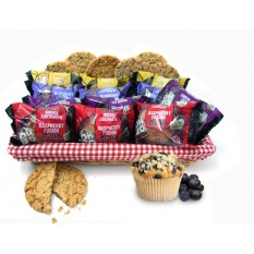 Hampers and Gifts to the UK - Send the Muffins and Cookies Gift Basket to Share