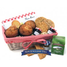 Hampers and Gifts to the UK - Send the Muffins and Tea Gift Basket