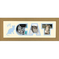 Hampers and Gifts to the UK - Send the Photos In A Word - Cat Frame