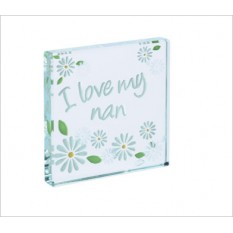 Hampers and Gifts to the UK - Send the I Love My Nan Daisies Spaceform Token