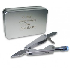 Hampers and Gifts to the UK - Send the Stainless Steel Multifunctional Pliers Personalised