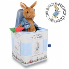 Hampers and Gifts to the UK - Send the Peter Rabbit Jack in the Box
