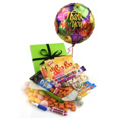 Hampers and Gifts to the UK - Send the Retro Sweet Sensations - THANK YOU