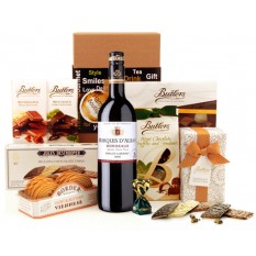 Hampers and Gifts to the UK - Send the Delightful Surprise Sweet and Red
