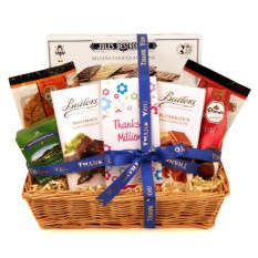 Hampers and Gifts to the UK - Send the Just to Say Thanks a Million Gift Basket