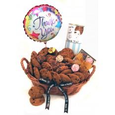 Thank You Luxury Chocolates and Cookies Gift Basket