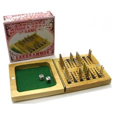 Hampers and Gifts to the UK - Send the Wooden Travel Backgammon Game