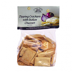 Hampers and Gifts to the UK - Send the Dipping Crackers with Italian Cheeses